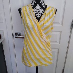 BeBe cotton pullover blouse size S